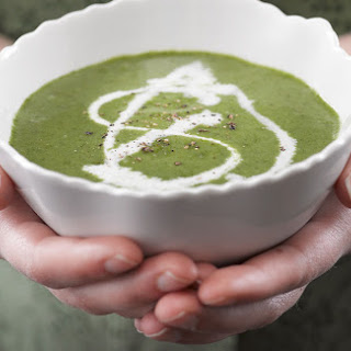 ​Creamy Spinach Soup.