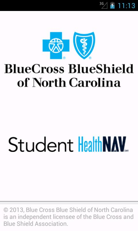 Student HealthNAV - screenshot