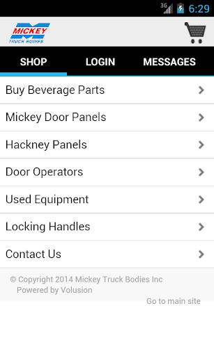 Mickey Parts