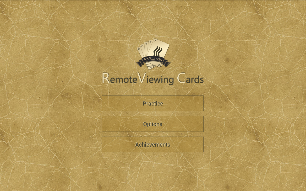 RVCards - Remote Viewing Cards- screenshot