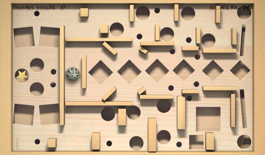 Shake 'n' Roll Labyrinth - screenshot