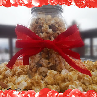 Carmel Corn with Peanuts