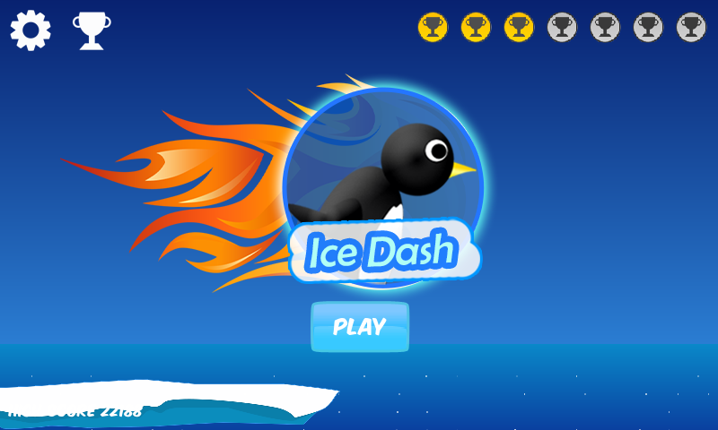 IceDash - Penguin Run - screenshot