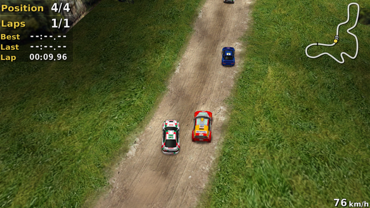 Pocket Rally- screenshot