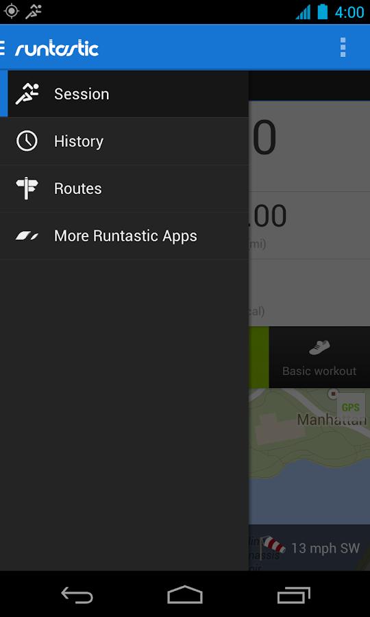 Runtastic PRO - screenshot
