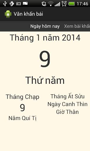 Khấn bái cúng lễ Việt Nam