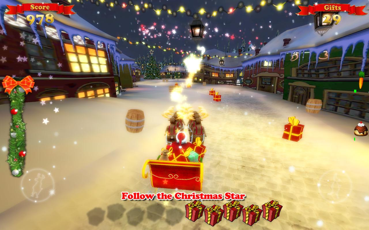 Santa Ride!- screenshot