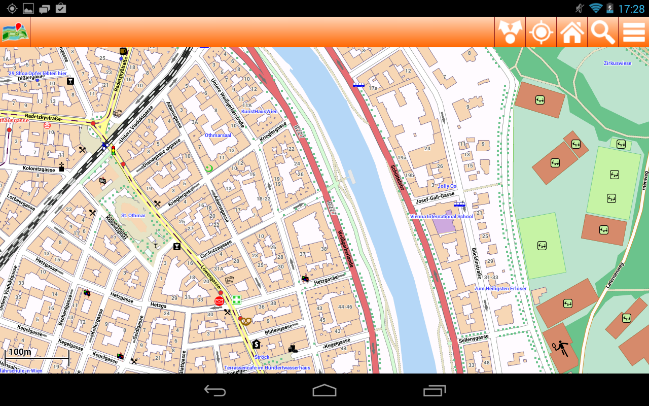 Vienna Offline mappa Map - screenshot