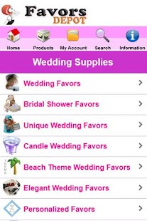 Wedding Favors Depot- screenshot thumbnail