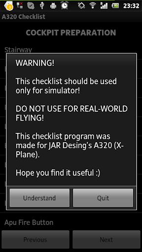 Airbus A320 Checklist 1.0