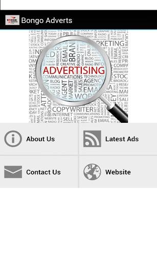 Bongo Adverts