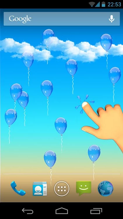 Balloons Live Wallpaper- screenshot