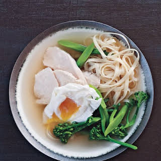Chinese Egg Noodle Soup.
