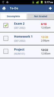 Grades: Student Organizer - screenshot thumbnail