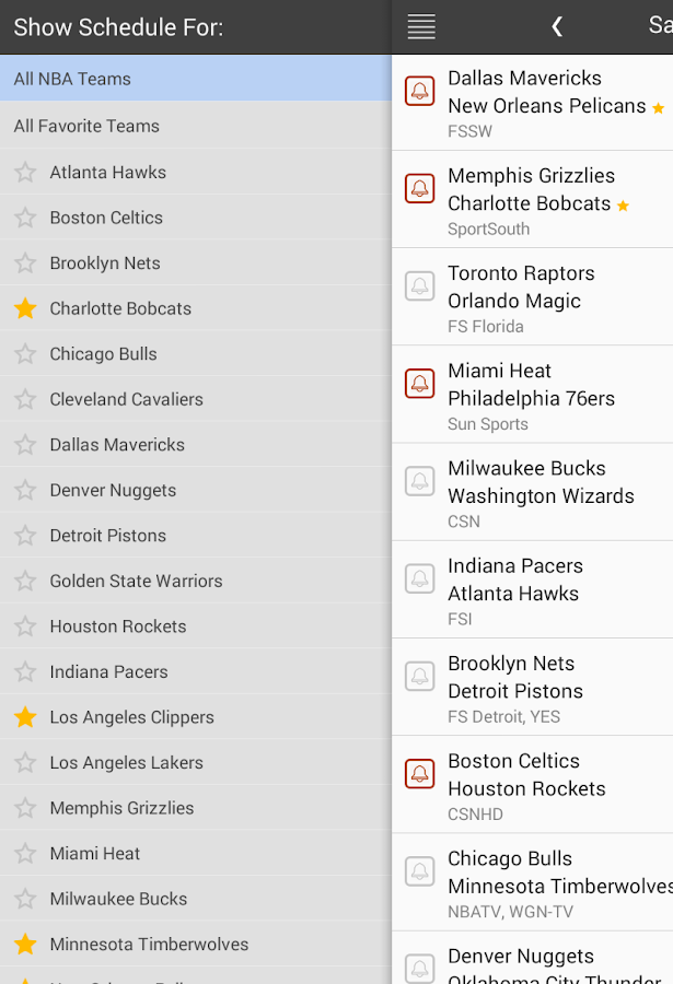 Basketball Scores NBA Schedule - Android Apps on Google Play
