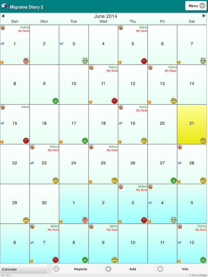 675 x 900 png 129kB, Migraine calendar - all the Calendar you need!