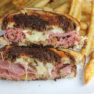 Corned Beef Grilled Cheese.