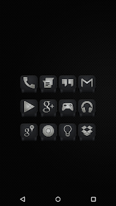 Black - Icon Pack v2.2.3
