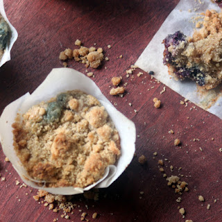 The Best Blueberry Sour Cream Crumb Muffin …Over the Top {Shavous Recipe}