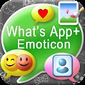 What'sApp+ Emoticon◀Skin▶Emoji