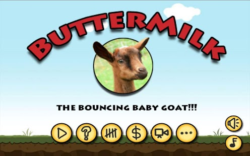 Buttermilk - The Bouncing Goat Screenshot 1