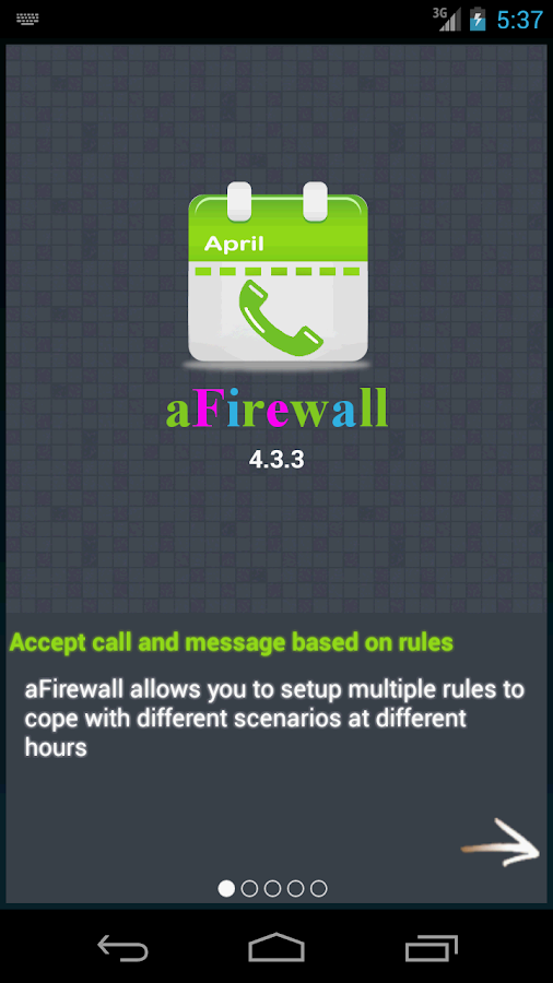 Call & Message blocker- screenshot