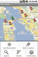 Screenshot of IRLP Finder