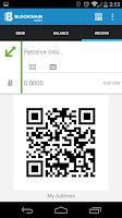 Screenshot of Bitcoin Wallet