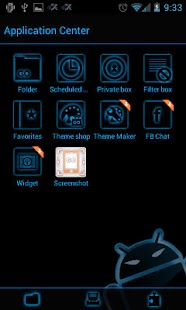 GOSMS SteelBlue Theme - Free - screenshot thumbnail