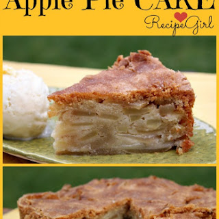 Cinnamon- Apple Pie Cake