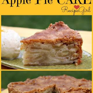 Cinnamon- Apple Pie Cake.