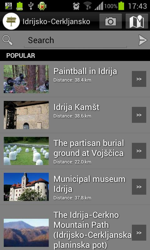 Idrija - Cerkno Travel Guide - screenshot