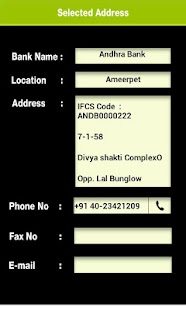 Hyderabad Banks & Atms Locator - screenshot thumbnail