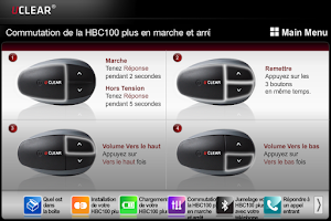 Screenshot of UCLEAR HBC100 Plus French