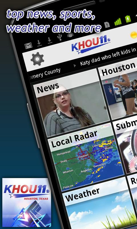 KHOU 11 News Houston - screenshot