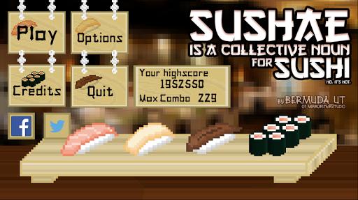 Sushae - 수쉐는 스시의 집합명사 입니다