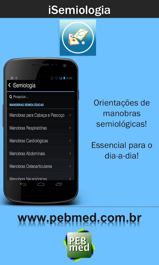 iSemiologia: Propedêutica - screenshot