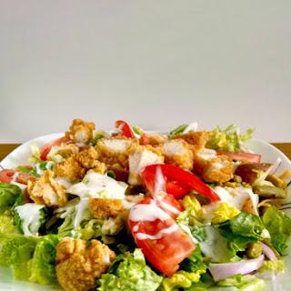 Fried Chicken Salad.