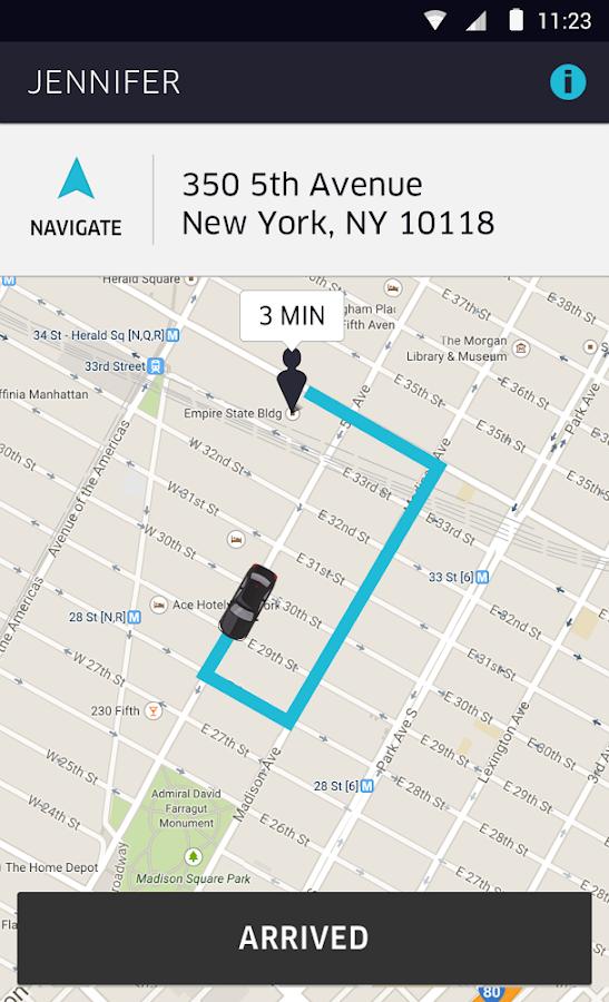 installing uber partner