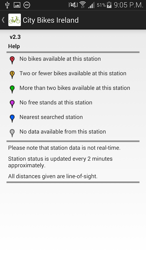 City Bikes Ireland - screenshot