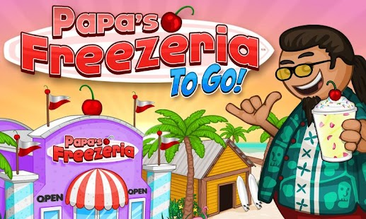Papa's Freezeria To Go!- screenshot thumbnail