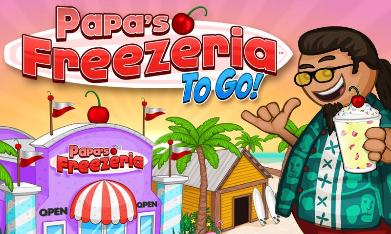 papa louie freezeria to go