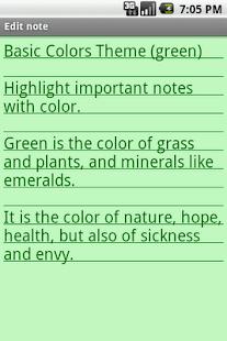 Basic Colors Theme- screenshot thumbnail