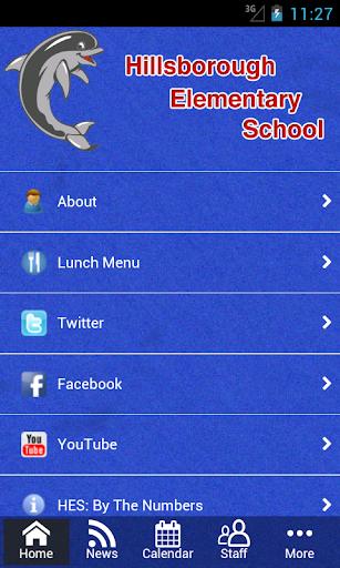 【免費教育App】Hillsborough Elementary School-APP點子