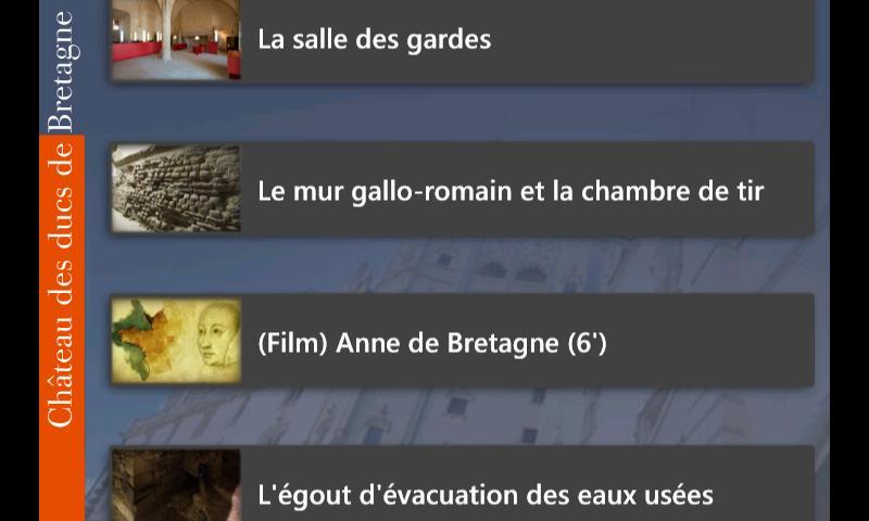 NantesChâteau– Capture d'écran
