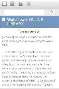 Watchtower Library 2012 - screenshot thumbnail