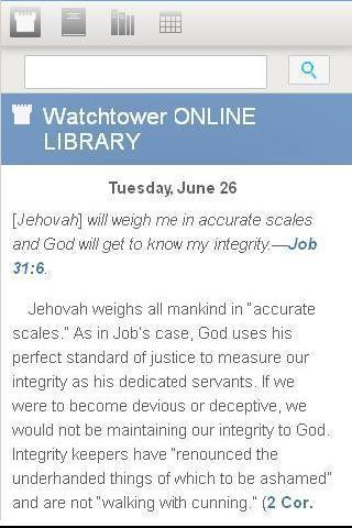 Watchtower Library 2014 - screenshot