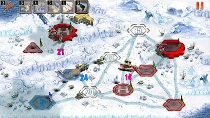 لعبة استراتيجية حربية مميزة جداً للاندرويد Modern Conflict 2 مجانية