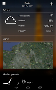 Yahoo Météo - screenshot thumbnail