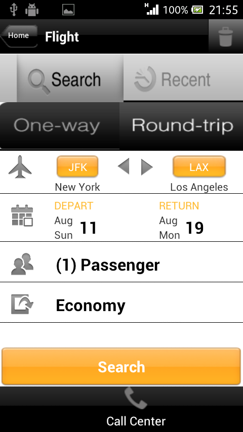 Travelation - Cheap Flights - screenshot